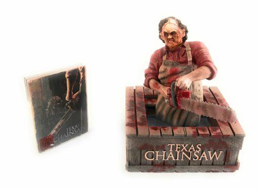 Texas Chainsaw: Leatherface Büste Mediabook TC Unrated Massacre Bluray FSK18, limitiert