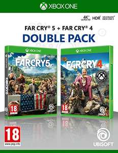 Double Pack: Far Cry 4 + Far Cry 5 XBox One für 14,99€ + VSK