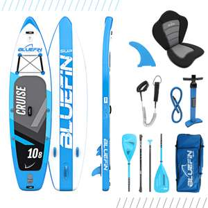 Bluefin Cruise SUP Board Set, Stand Up Paddle Board 10'8 ""