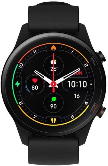 """Xiaomi Mi Watch schwarz oder blau (1.39"""" OLED, BT 5.0, Herzfrequenz- und SpO2-Messung, GPS, 420mAh / 16Tage Akku)"""