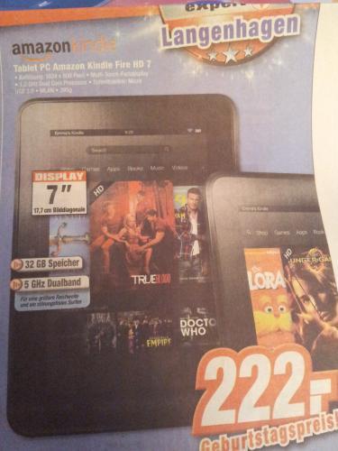 Kindle Fire HD 32GB lokal @expert Langenhagen