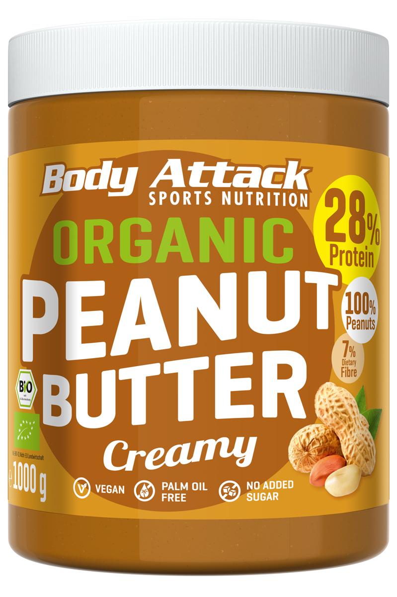 Bio-Erdnussbutter creamy ab 6kg versandkostenfrei -> EUR 6,99/kg