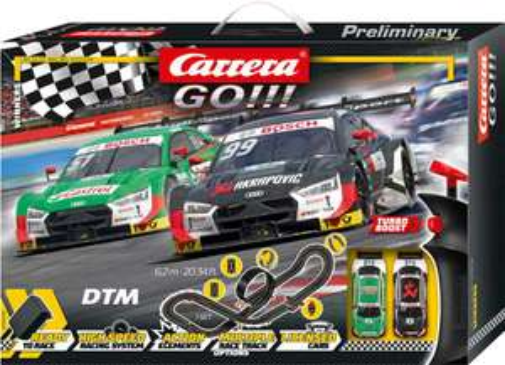 SammelDeal: Carrera GO Winners Rennbahn-Set DTM-Sieger für 39,95€ inkl. Versand (Exoneit)