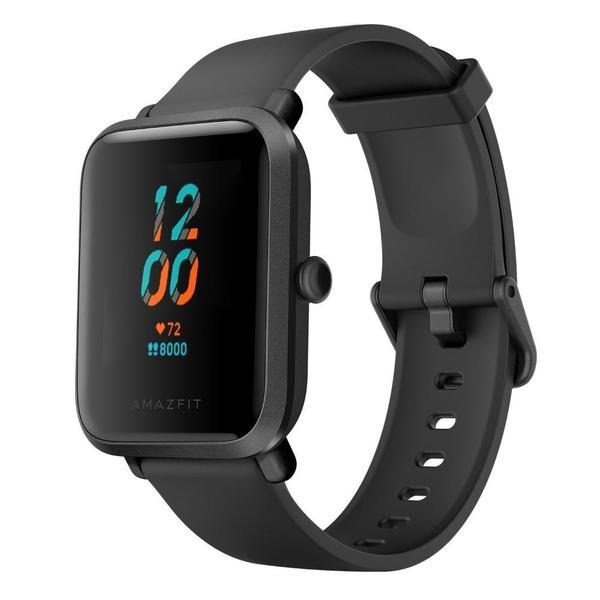 Smartwatch Amazfit Bip S in Carbon Black (GPS; Direktversand Amazfit DE)