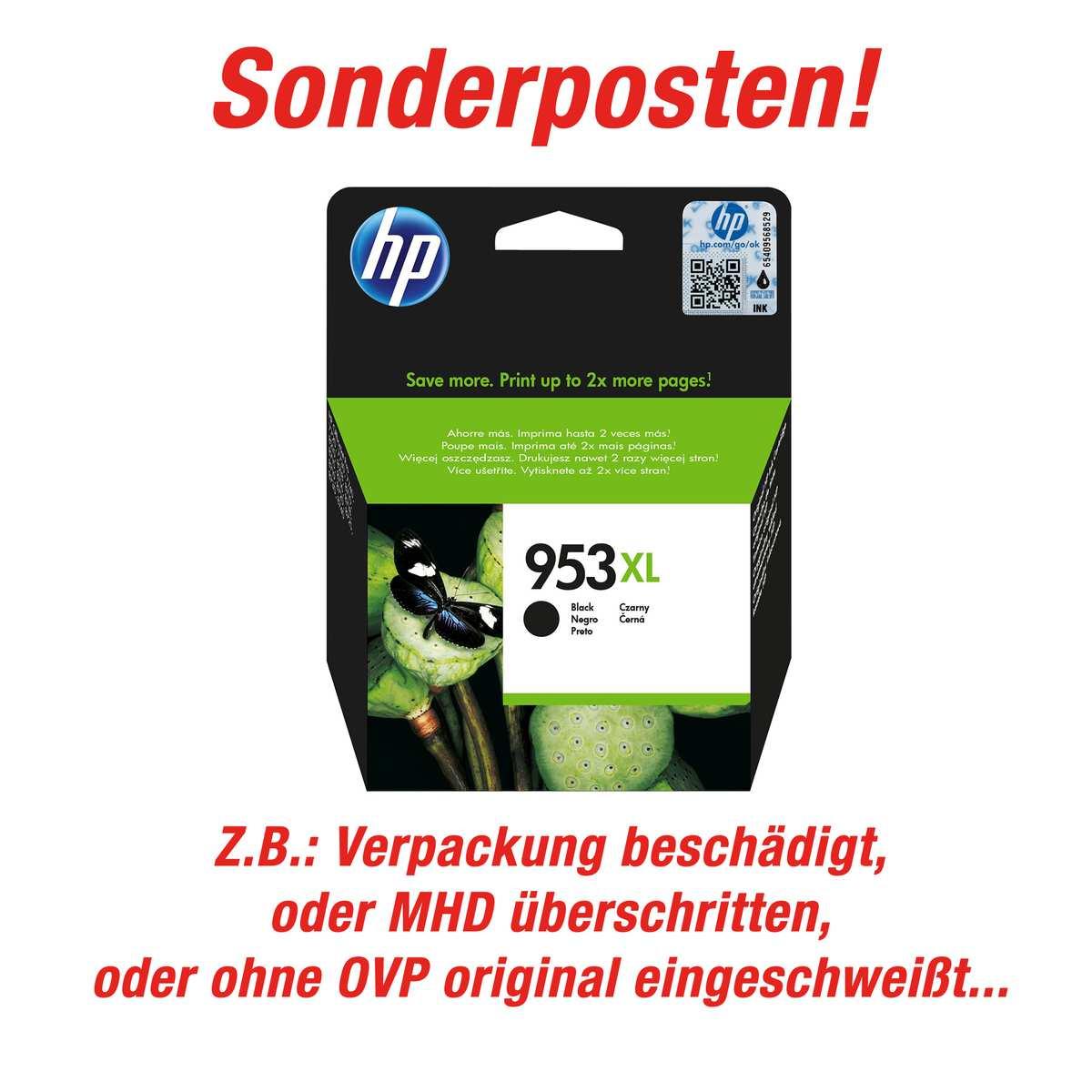 HP 953 XL schwarz (Sonderposten)