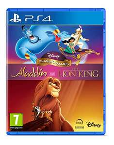 Disney Classic Games: Aladdin and The Lion King Playstation 4 Ps4 für 9,99€ + VSK