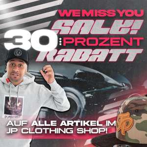30% Rabatt bei JP Performance Clothing