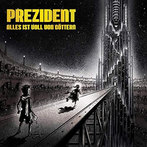 """[Prime oder MM Abholung] Prezident - Alles ist voll von Göttern (3 CDs: Album + Instrumentals + EPs """"Interesseloses Mißfallen 1&2"""")"""