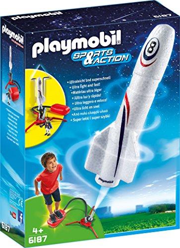 PRIME Playmobil 6187 - Rakete mit Spring-Booster