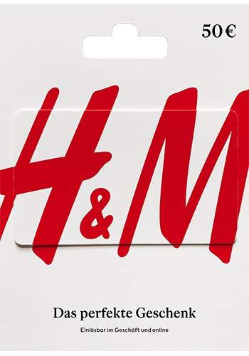 Amazon: 15% Rabatt auf H&M Geschenkkarten / 50€ für 42,50€ o. 25€ für 21,25€