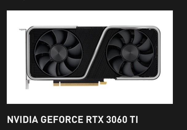 NVIDIA GeForce RTX 3060 Ti Founders Edition, 8GB GDDR6