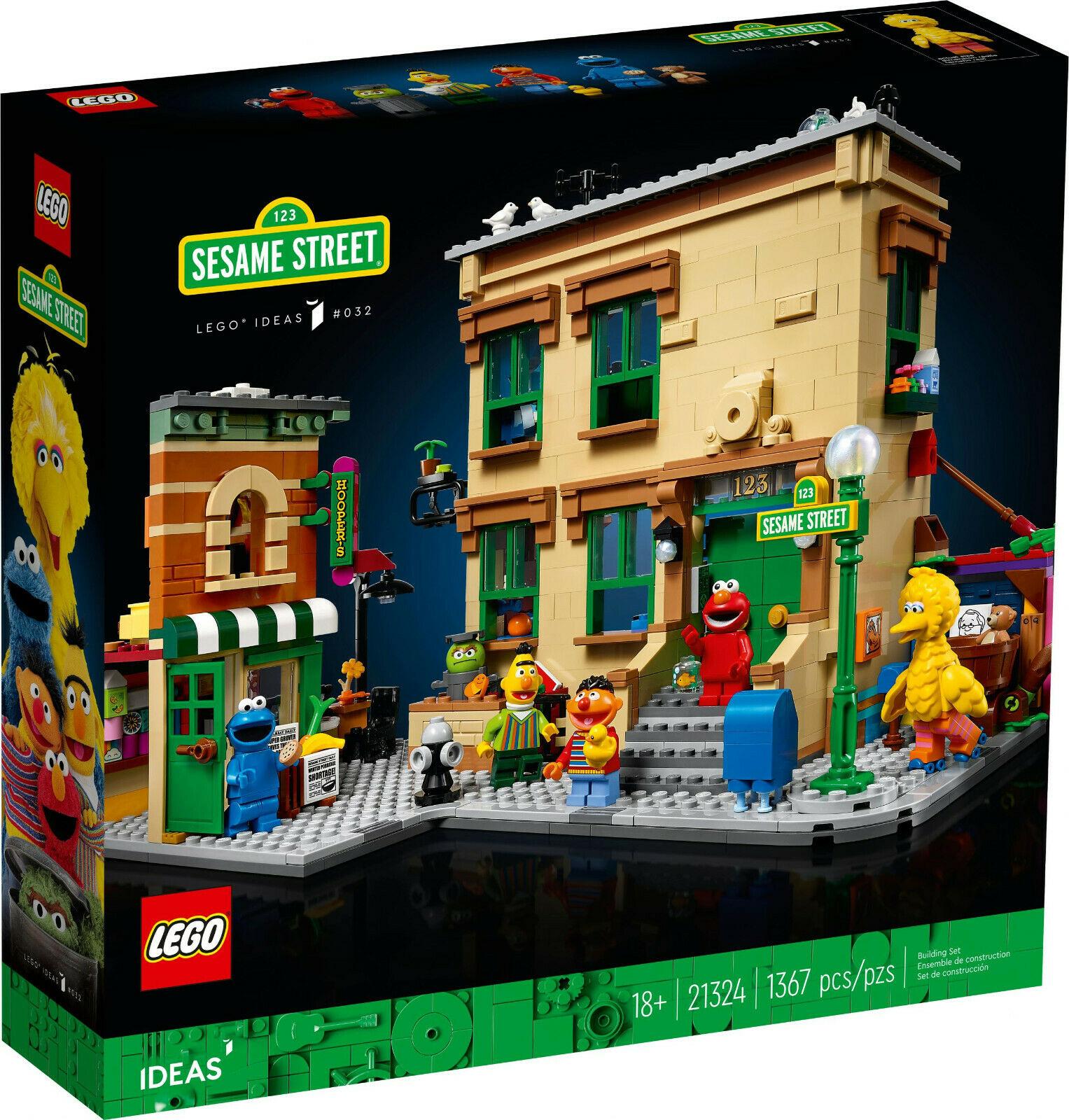 "LEGO® IDEAS 21324 123 Sesamstraße ""123 Sesame Street"""