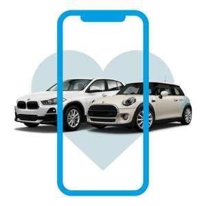 0€ Registrierung + 5€ Guthaben oder 10€ mit 20€ Guthaben bei SHARE NOW für Neukunden (Carsharing, z.B. Smarts für 0,19€-0,26€ / Min.)