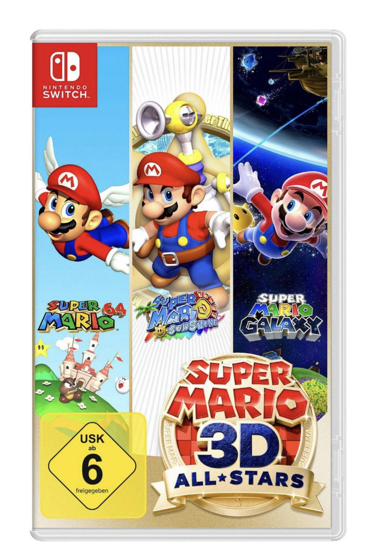 Super Mario 3D All-Stars Nintendo für 39,99€ inkl. Versand für OTTO Kunden mit Lieferflat