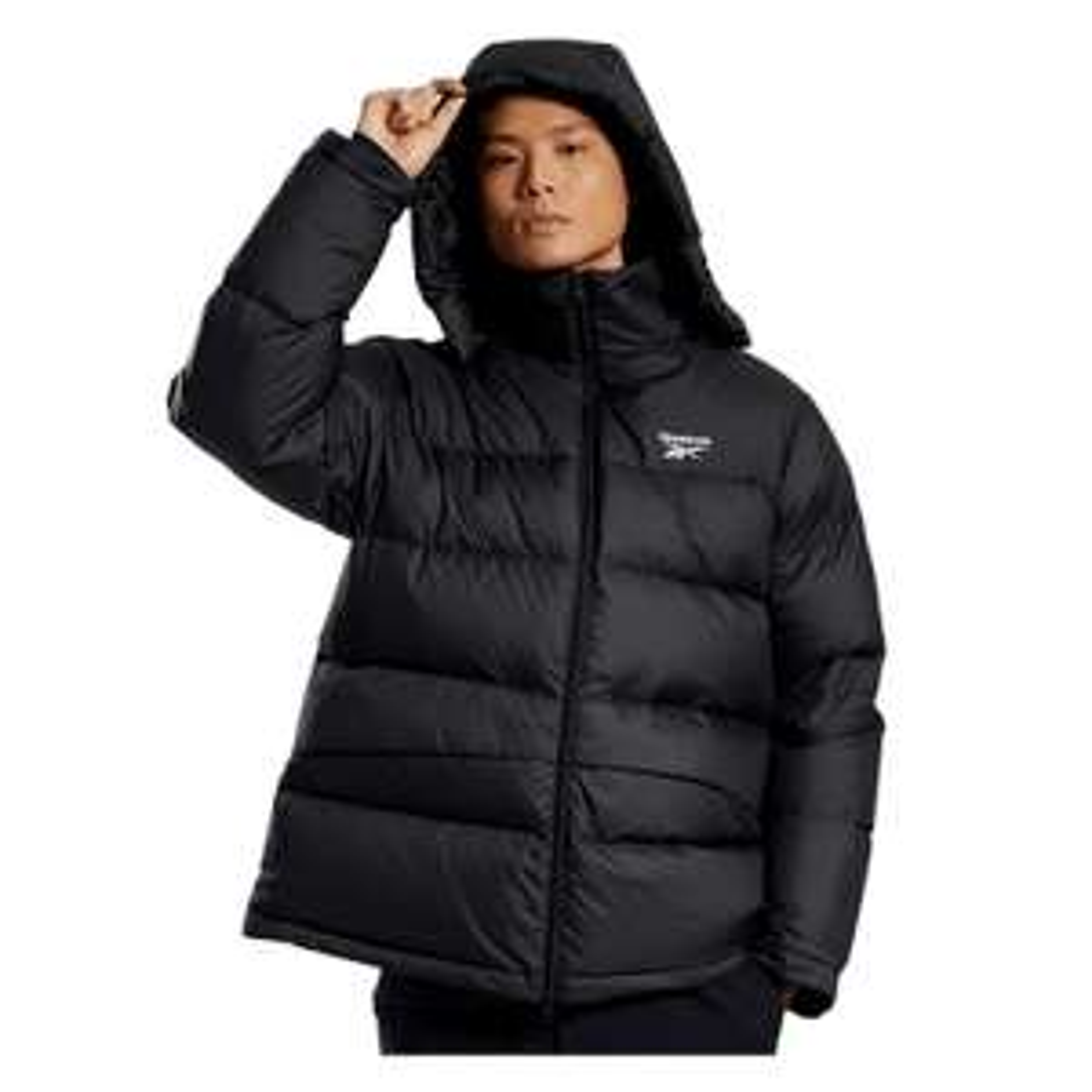Reebok Daunenjacke Core Mid Down Jacket schwarz (Größe S-2XL)