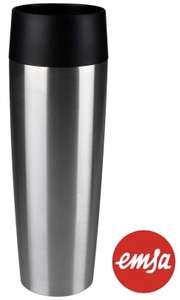Emsa 515614 Travel Mug Grande Thermobecher 500ml edelstahl für 14,71€ mit Prime