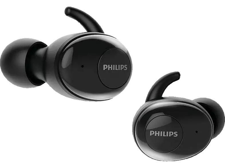 PHILIPS UpBeat SHB2515BK/10, In-ear True Wireless Kopfhörer Bluetooth Schwarz