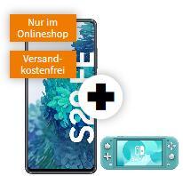 Samsung Galaxy S20 FE 128GB alle Farben + Nintendo Switch Lite für 49€ einmalig und 24,99€ monatlich mit Vodafone MD green LTE 10GB