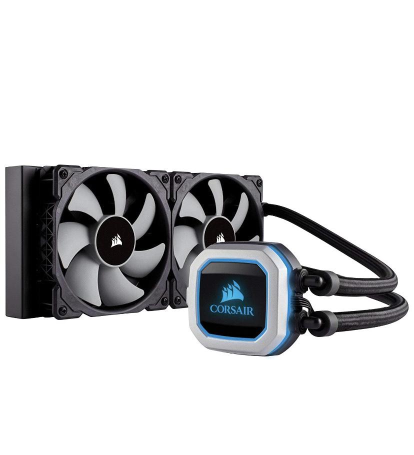 CORSAIR Hydro Series H100i PRO RGB CPU Wasserkühlung