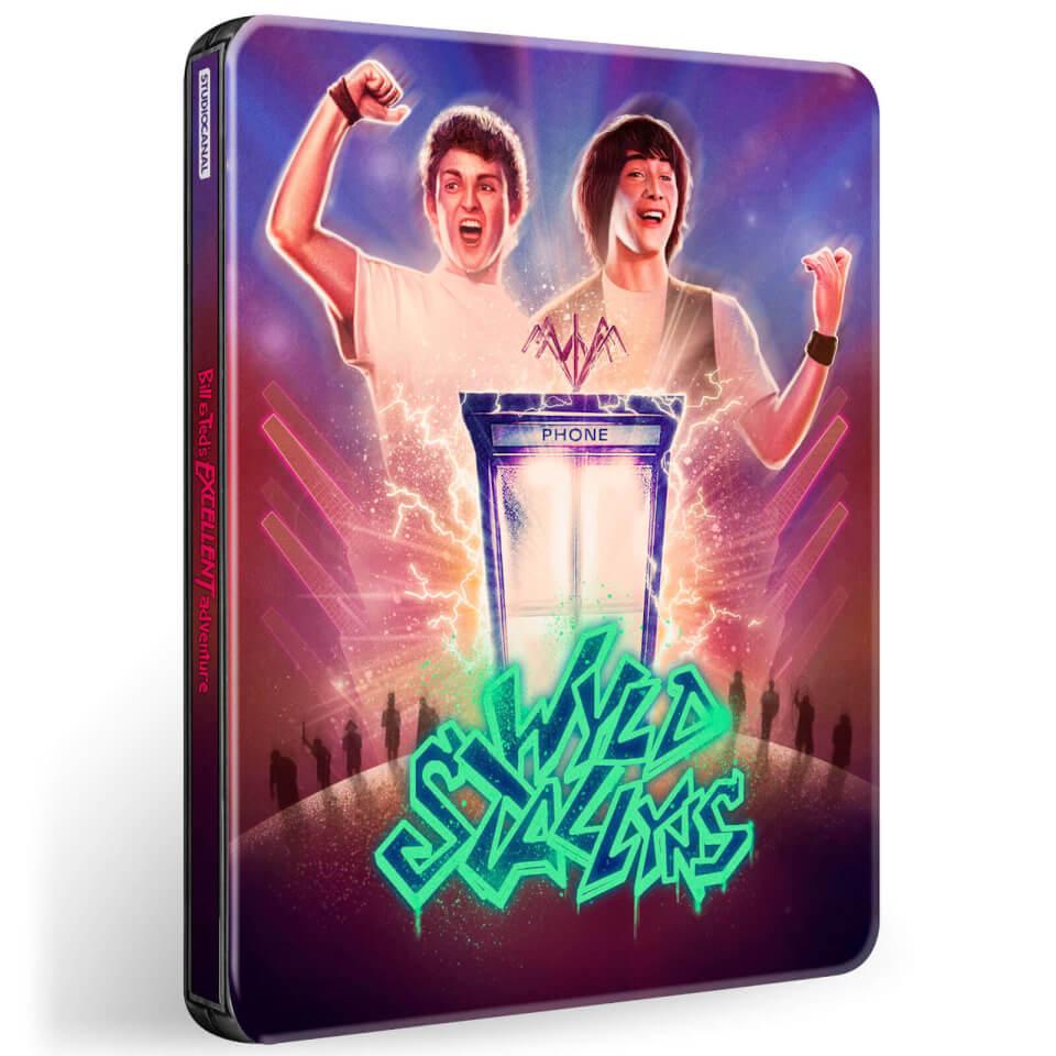 Bill & Ted's Verrückte Reise durch die Zeit - 4K Ultra HD + Blu-ray Zavvi Exklusives Steelbook