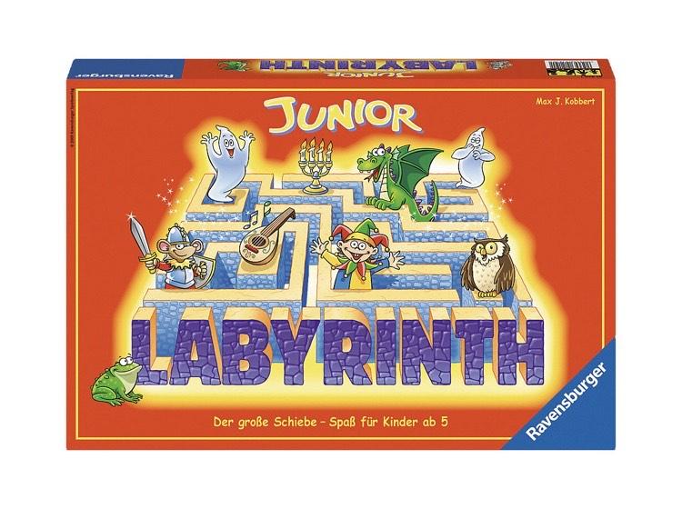Ravensburger Junior Labyrinth Brettspiel - Klassiker