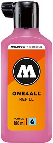(Prime) Molotow ONE4ALL Refill Acryl, Farbe 231 fuchsia pink 180 ml, Nachfülltinte für Permanentmarker