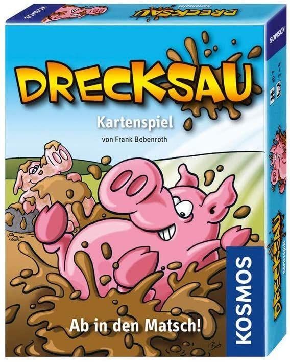 [Prime] KOSMOS 740276 Drecksau - Ab in den Matsch! lustiges Karten-/Partyspiel