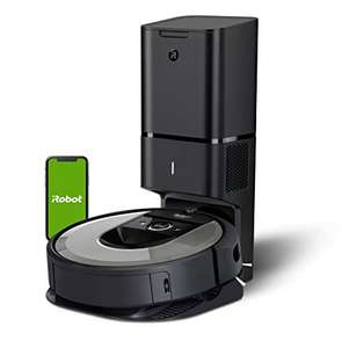 iRobot Roomba i7+ (i7556) Saugroboter, automatische Absaugstation