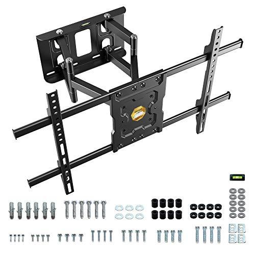 [Amazon Prime Blitzangebot] RICOO TV Wand-Halterung Schwenkbar Neigbar (S7264) Universal Fernsehhalterung für 40-65 Zoll (bis 50-Kg)