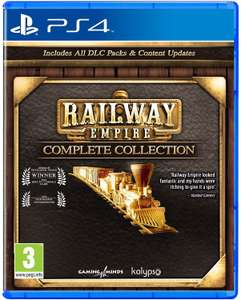 Railway Empire Complete Collection (PEGI) [Playstation 4]