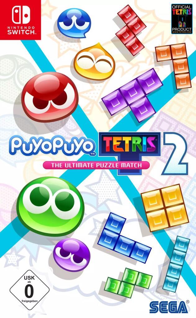 Nintendo Switch Spiele: Puyo Puyo Tetris 2 | Commandos 2: HD Remaster | Immortal Realms: Vampire Wars | Railway Empire | Tropico 6