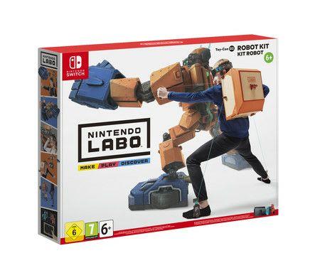 [expert.de] NINTENDO Switch Labo Toy-Con 2 - Robo-Set