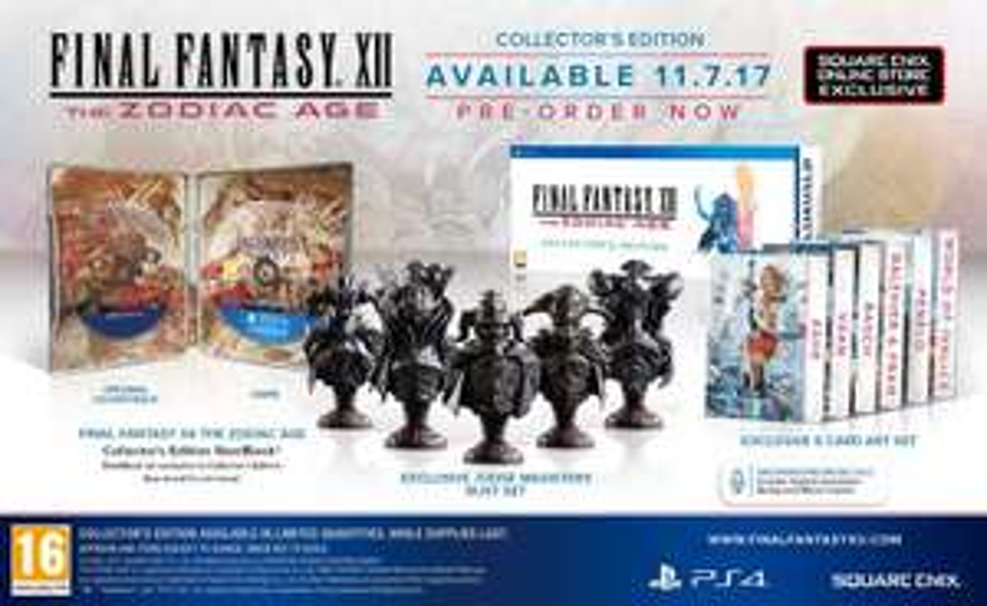 Final Fantasy XII: The Zodiac Age Collectors Edition (PS4) für 82,98 € (Square Enix Store)