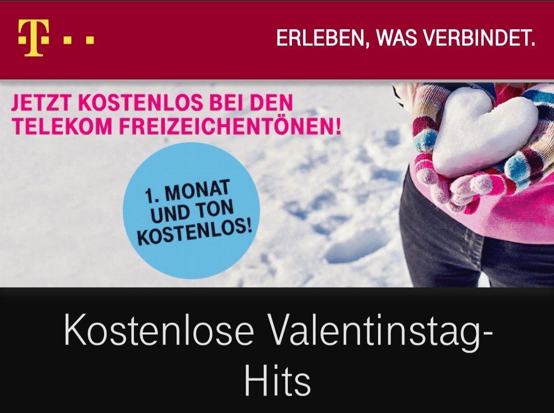 Telekom Valentintags-Hits Freizeichentöne (1Monat und Ton Kostenlos)
