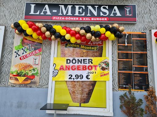 [Magdeburg] LA-MENSA, Leipziger Straße 10a, Döner 2,99 €