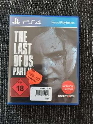 The Last of Us Part II PS4 Spiel (Real St. Augustin - Huma Einkaufspark)
