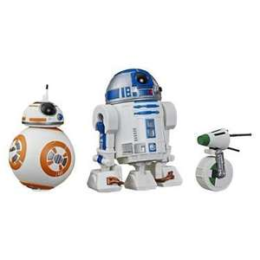 [duo-shop.de] Hasbro Star Wars R2-D2, BB-8, D-O Action-Figur Set, 12,5 cm