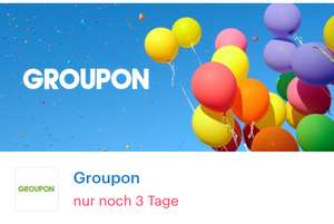 [ Shoop   Groupon ] 14% Cashback auf Lokale und Hotels & Reisen Deals