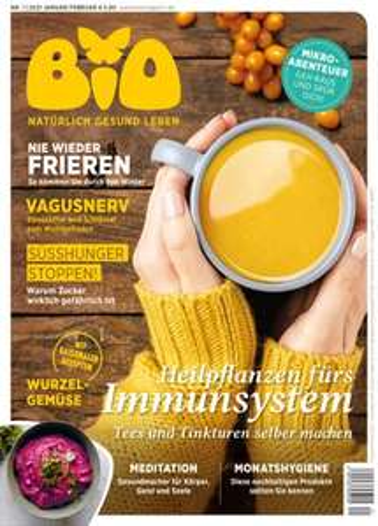 Bio – Gesundheit von Körper, Geist und Seele Abo (3 Ausgaben) + Bienenwachstuch (30x30 cm) für 11,80 €
