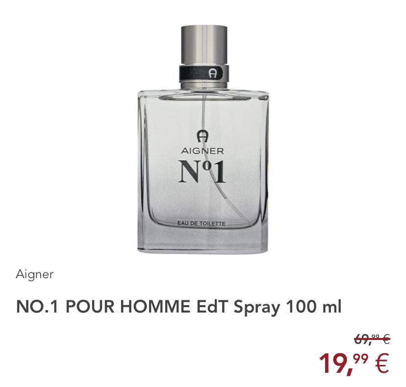 [Filiale ROSSMANN] AIGNER NO. 1 POUR HOMME EdT Spray 100 ml