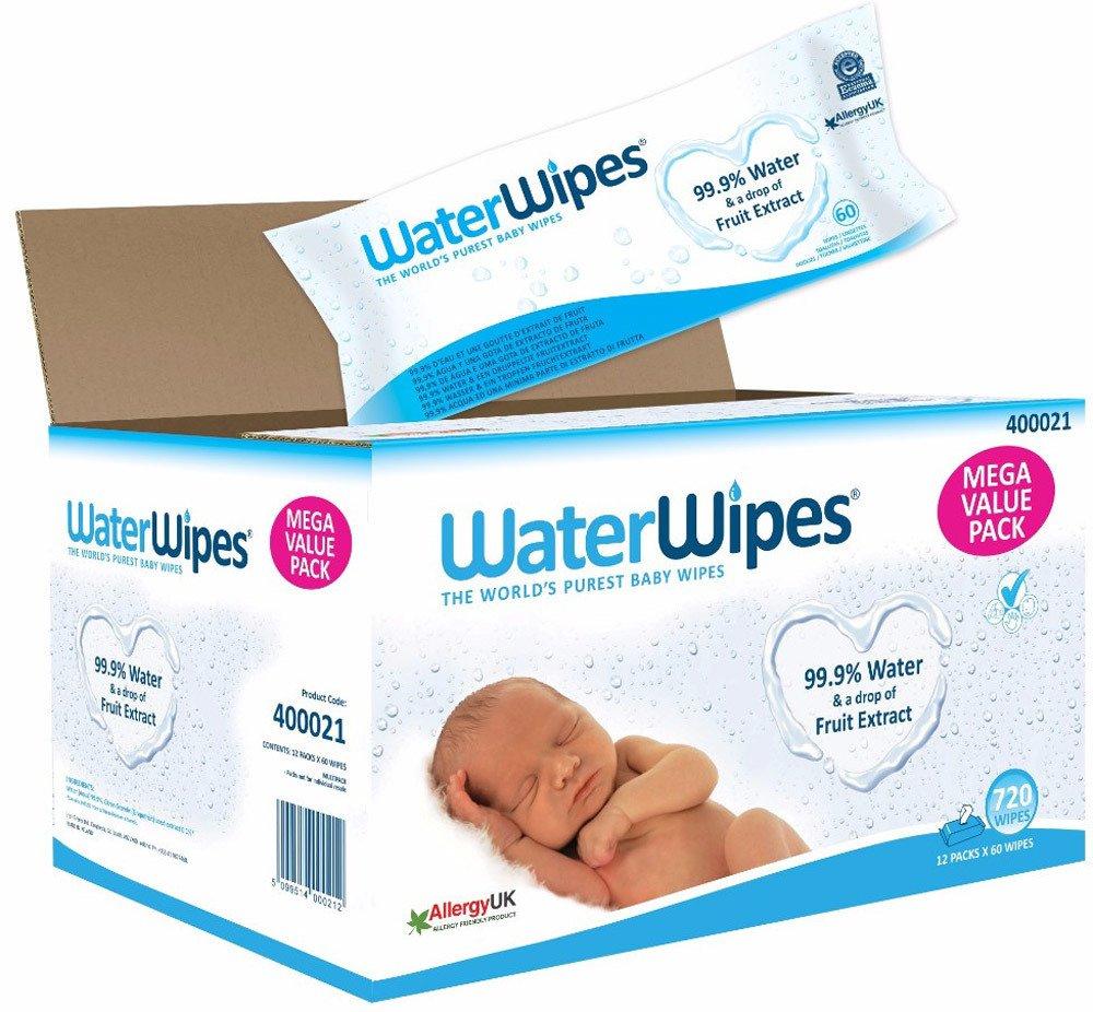 Waterwipes - Feuchttücher für den Babypo (3,5ct pro Stück statt sonst 5ct)