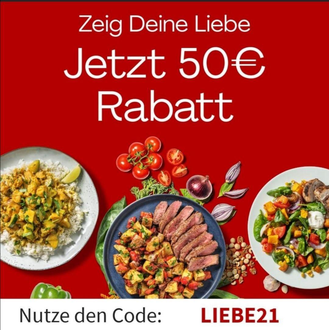 Hellofresh 50€ Rabatt