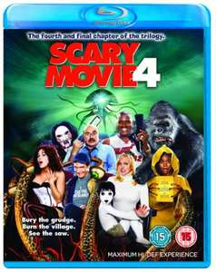Blu-Ray - Scary Movie 4 für €6,80 [@Zavvi.com]