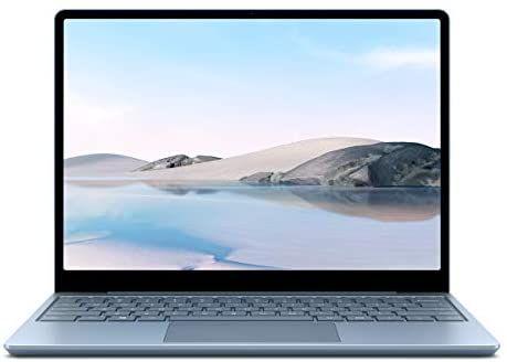 Microsoft Surface Laptop Go, 12,45 Zoll Laptop (Intel Core i5, 8GB RAM, 256GB SSD, Win 10 Home in S Mode) Eisblau[Amazon]