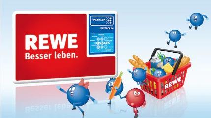 [Payback] 2* 15fach eCoupons für Rewe auf einen Einkauf ab 40€ | gültig bis 28.03.2021