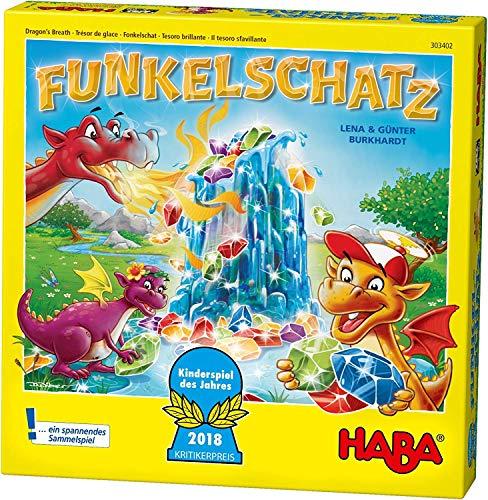 [Amazon Prime / Thalia] Haba 303402 - Funkelschatz, Spiel des Jahres 2018, ab 5 Jahren, 2-4 Spieler