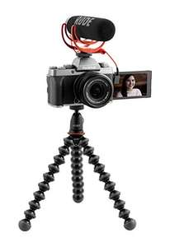 Fujifilm x-t200 + 15-45 Zoom + Gorilla Pod 1K + Rode VideoMic GO / Amazon Warehouse FR / wie neu