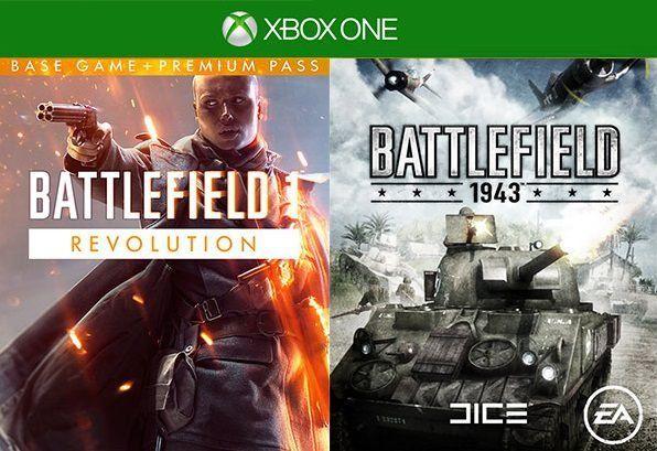 Battlefield 1 Revolution + Battlefield 1943 (Xbox One) für 2,29€ (Cdkeys)