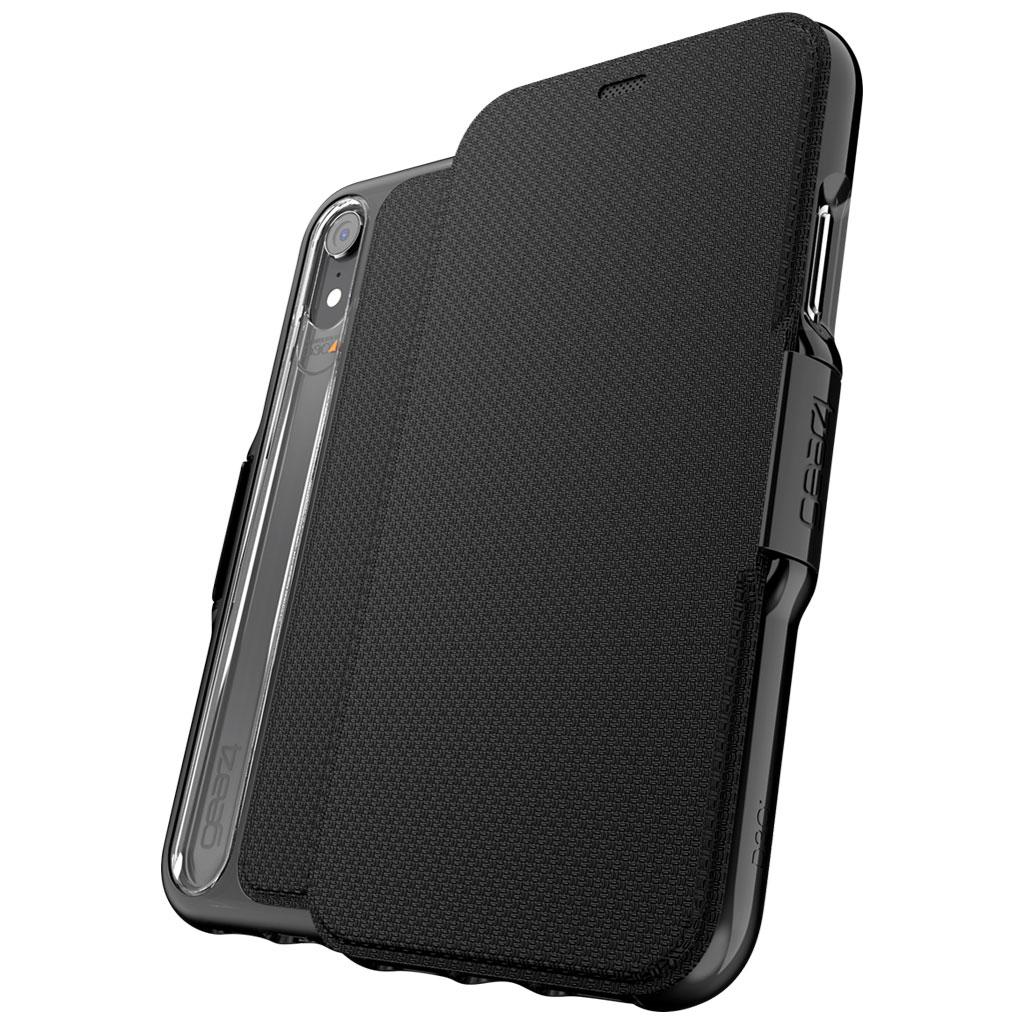 Diverse Handyhüllen im AfB-Shop bzw. AfB-Ebay vergünstigt, z.B. gear4 Oxford - Flip-Hülle - Handyhülle (iPhone XR) für 19,99€ statt 29,85€