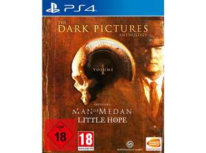 The Dark Pictures Anthology Vol 1 Little Hope + Man of Medan Ps4 Playstation 4 (Saturn Abholung)